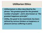 utilitarian ethics3
