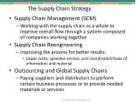 the supply chain strategy