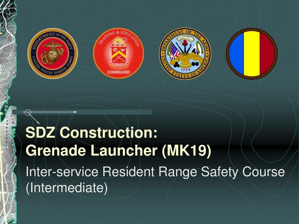 sdz construction grenade launcher mk19 l.