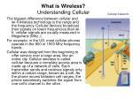 what is wireless understanding cellular