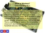 what is wireless understanding wi fi