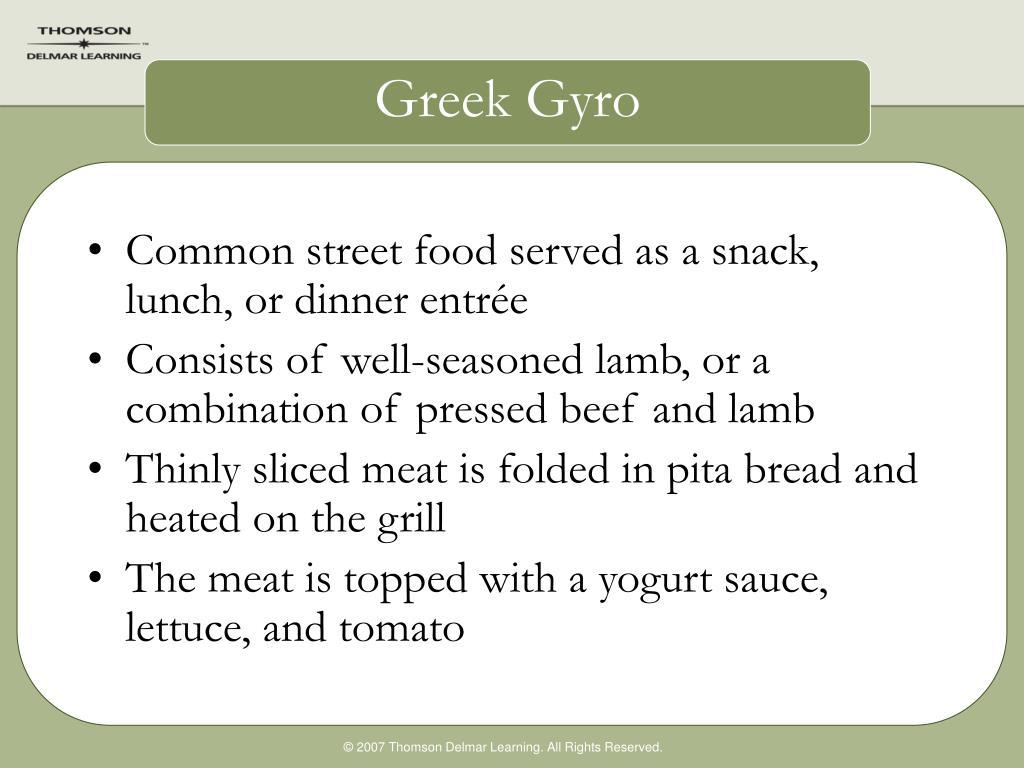 Greek Gyro