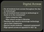 digital access definition full electronic participation in society