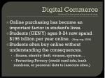 digital commerce definition the buying and selling of goods online