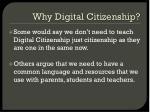 why digital citizenship