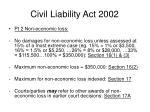 civil liability act 200211