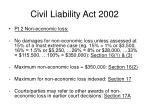 civil liability act 200243