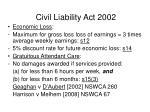 civil liability act 200246