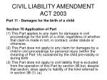 civil liability amendment act 2003