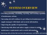 system overview13
