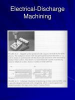 electrical discharge machining22
