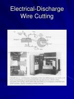 electrical discharge wire cutting26
