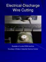 electrical discharge wire cutting28