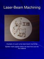 laser beam machining34