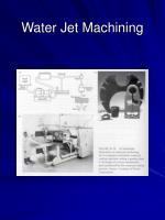water jet machining45