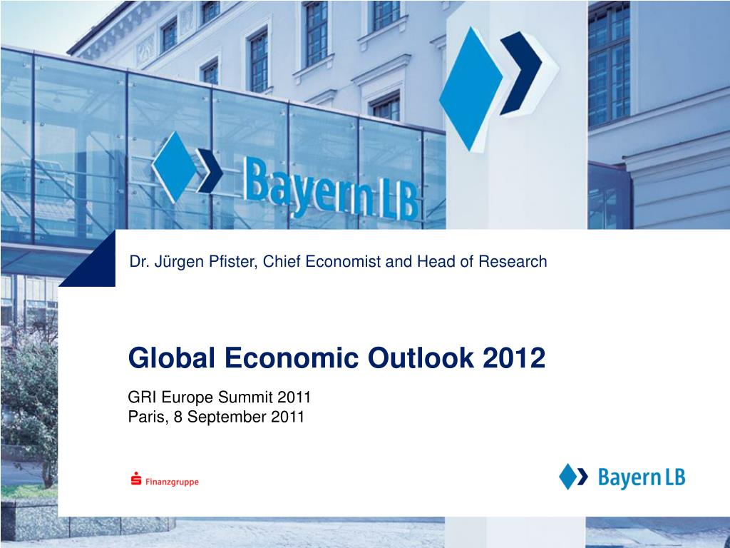 global economic outlook 2012 l.