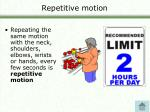 repetitive motion21