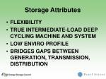 storage attributes