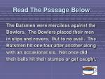 read the passage below