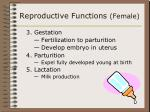 reproductive functions female23