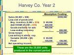 harvey co year 231
