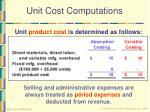 unit cost computations19