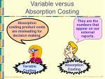 variable versus absorption costing40