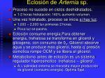 eclosi n de artemia sp