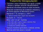 trataminto decapsulaci n
