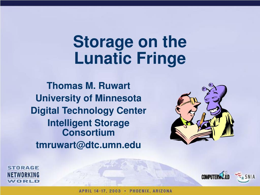 storage on the lunatic fringe l.