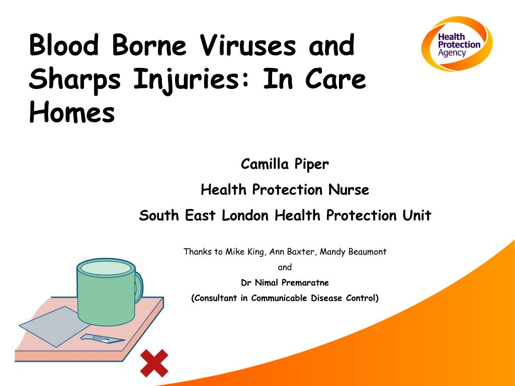 blood borne viruses and sharps injuries in care homes l.