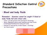 standard infection control precautions