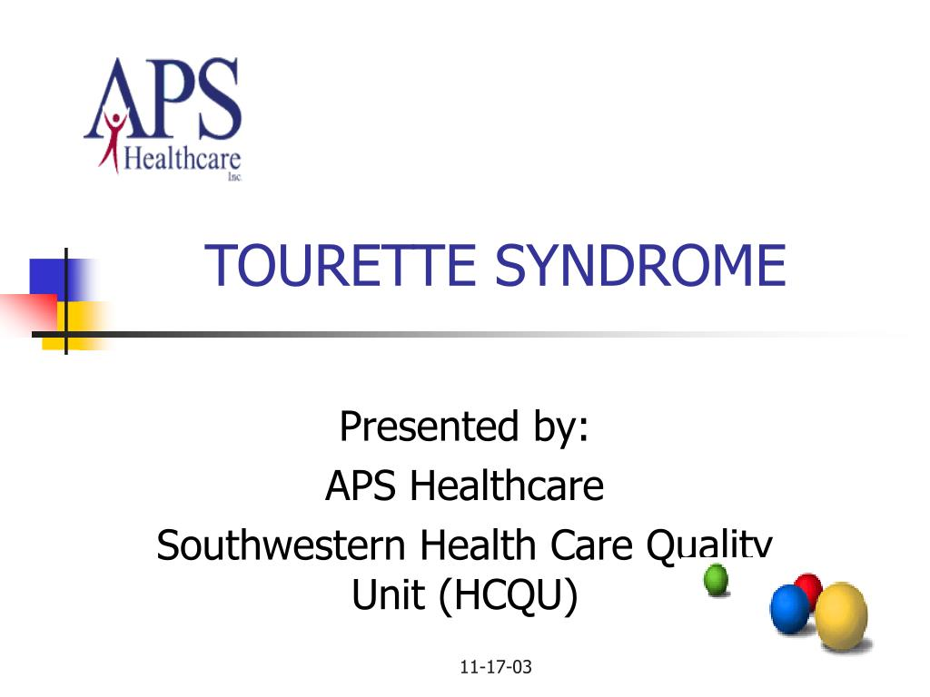 tourette syndrome l.