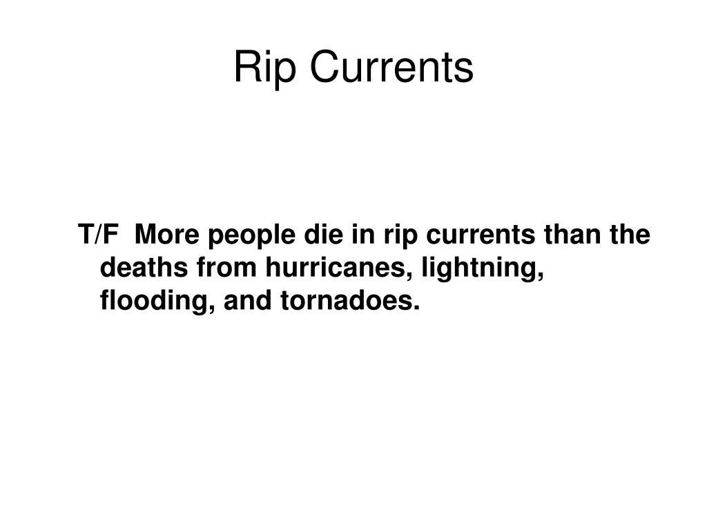 Rip Currents