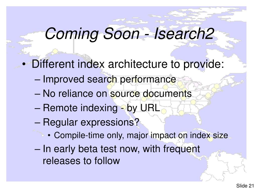 Coming Soon - Isearch2