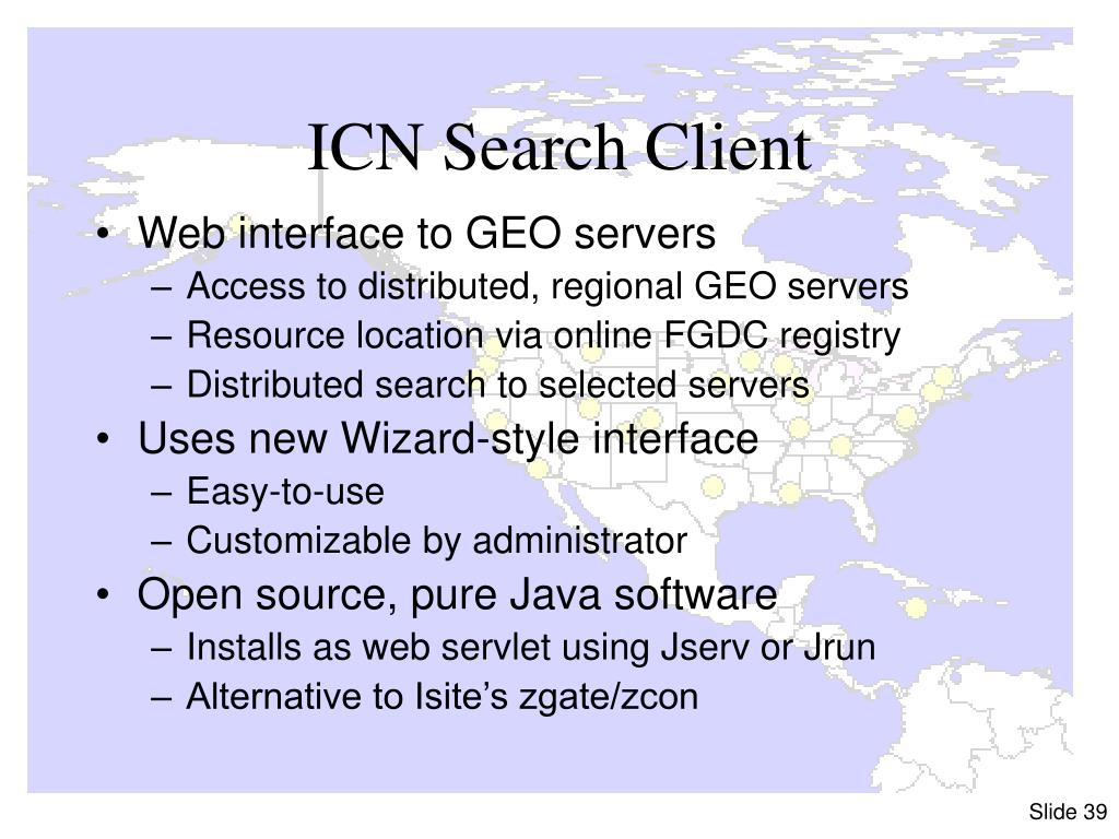 ICN Search Client