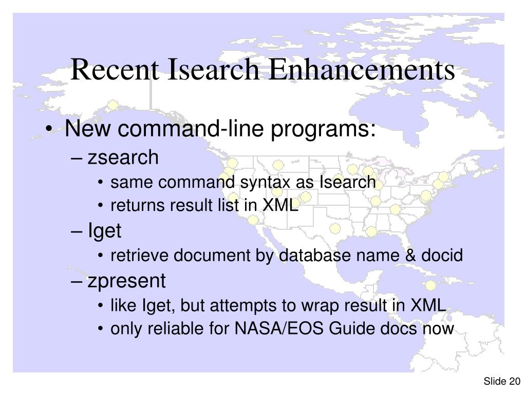 Recent Isearch Enhancements