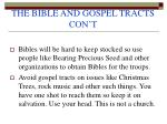 the bible and gospel tracts con t41