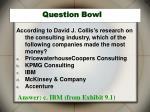 question bowl21