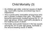 child mortality 3