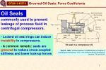 oil seal in a compressor 1
