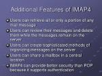 additional features of imap4