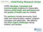 child policy research center