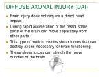 diffuse axonal injury dai