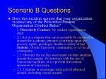scenario b questions6