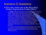 scenario g questions