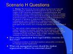 scenario h questions25