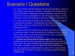 scenario i questions29