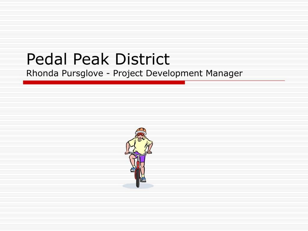 pedal peak district rhonda pursglove project development manager l.
