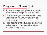 progress on monsal trail